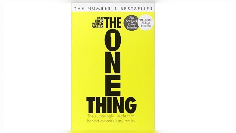 The ONE Thing, de Gary Keller y Jay Papasan.