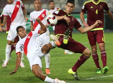 Sigue en vivo las clasificatorias: Venezuela vs Perú