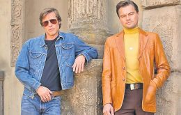 "Leonardo DiCaprio y Brad Pitt juntos en la cinta ""Once Upon a Time in Hollywood"""
